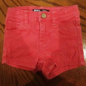 Toddler Levis Pink Shorts